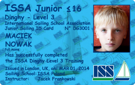 For more details about ISSA Dinghy Certificate go to www.issa-schools.org