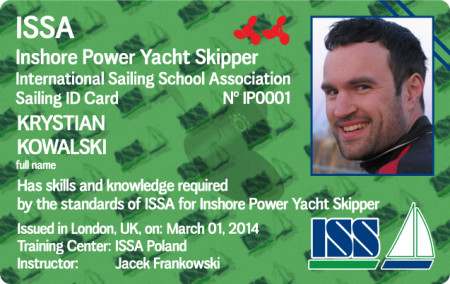 For more details about ISSA Inshore Power Skipper Certificate go to www.issa-schools.org