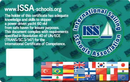 For more details about ISSA Offshore Power Skipper Certificate go to www.issa-schools.org