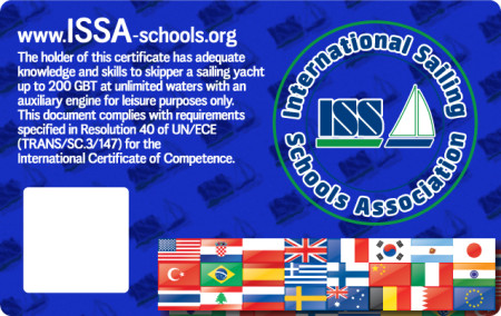 For more details about ISSA Master of Yacht Certificate go to www.issa-schools.org