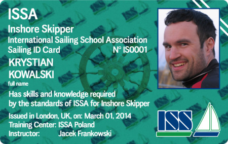 For more details about ISSA Inshore Skipper Certificate go to www.issa-schools.org