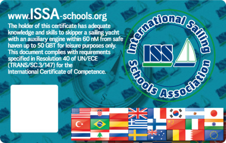 For more details about ISSA Offshore Skipper Certificate go to www.issa-schools.org